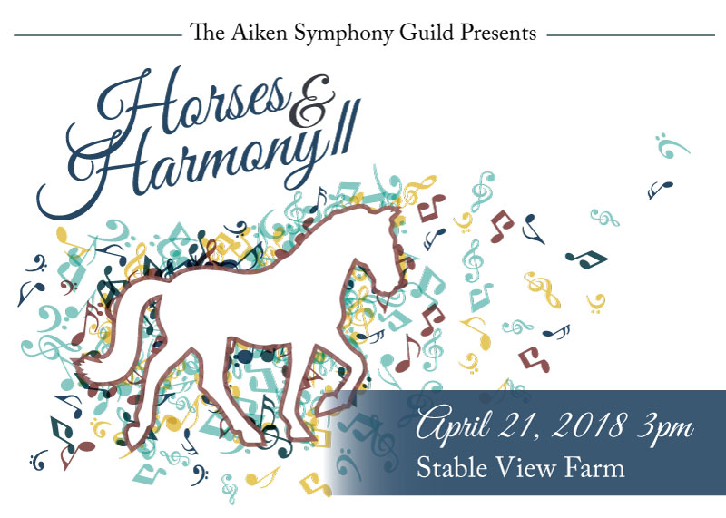 Horses & Harmony II, April 21, 2018, 3pm at Stable View Farm